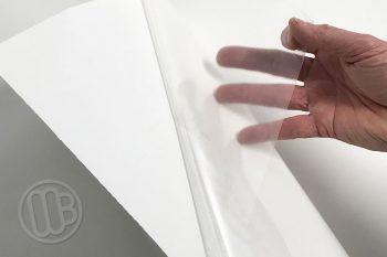 Opti Rite Dry Erase Clear Whiteboard