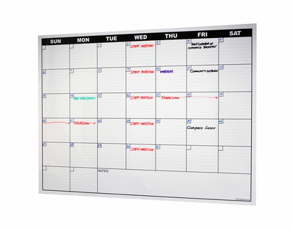 1 Month Calendar Decal