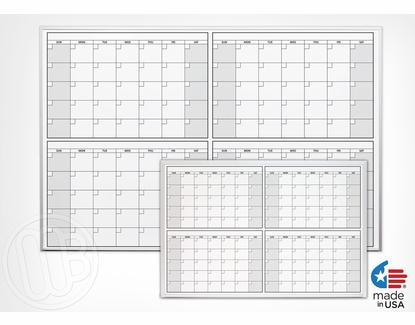 4 Month Calendars