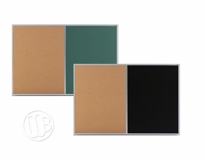Chalk/Cork Combo Aluminum Frame