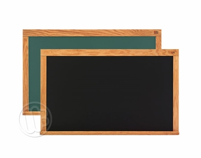 Magnetic Chalkboards - Oak Frame