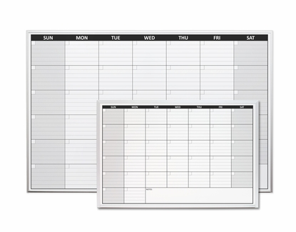 Non-Magnetic One Month Calendar