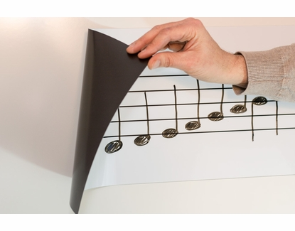 Small Roll-Up Music Magnets