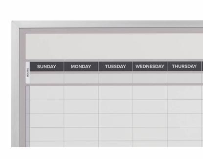 Weekly Dry Erase Calendar